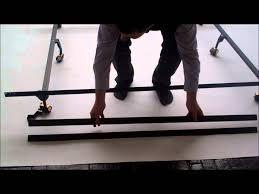 mantua extreme bed frame set up instructions youtube