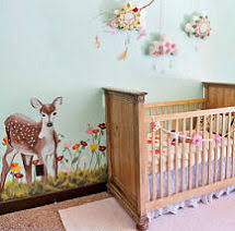 Nature Themed Crib Bedding Forest Meadow Theme Nursery With Baby Deer Nursery Bedding Kid