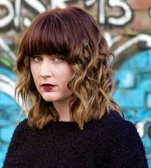 Bob Frisuren Mit Locken by Bob Frisuren Pony Locken Kurzhaarfrisuren Bilder Galerie 2017