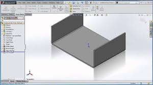 solidworks tnt design cardboard boxes with sheet metal tips n