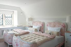 Shabby Chic Blue Bedding by Chic Blue Bedroom Design Ideas