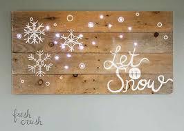 diy pallet holiday sign
