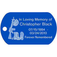 in loving memory dog tags black memorial dog tag