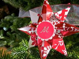 origami christmas stars what to do with your wrapping paper