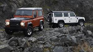 Hd White And Red Land Rover Defender Wallpaper Download Free
