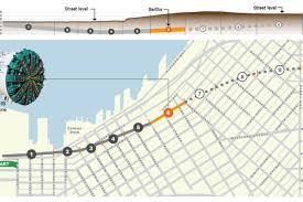 Wsdot Seattle Traffic Map Bertha Now Under The Showbox 4 239 Feet Into Journey Curbed Seattle
