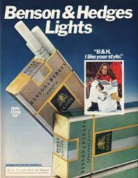 benson and hedges cigarettes ad memory