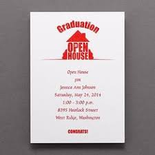 find most unique graduation open house party invitations and