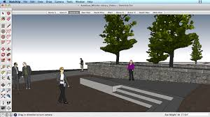 sketchup training series position camera look around youtube