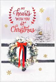 christmas greeting cards missing you at christmas greeting card greeting cards hallmark