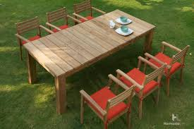 Wooden Patio Dining Set Announcing Our Newest Outdoor Teak Furniture Collections Patio