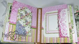 flip photo album gallery pink enchanted mums flip fold album heartfelt creations