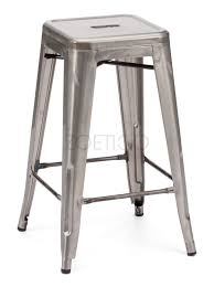Backless Counter Stool Leather Kitchen Provide A Chic Look To Your Home With Metal Counter