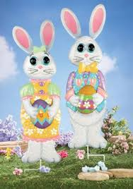 Amazon Outdoor Easter Decorations by 7 Best Outdoor Easter Images On Pinterest Easter Bunny