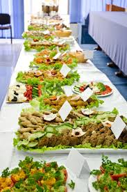 table full of food catering table full of appetizing foods stock photo image of