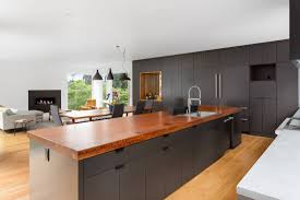 light wood kitchen cabinets with black countertops should wood floors be lighter or darker than cabinets