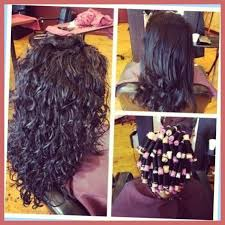 body wave perm hairstyle before and after on short hair curly hair on pinterest perms body wave perm and loose spiral