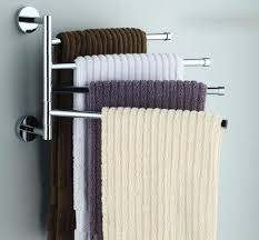 Towel Storage Bathroom Shelves Wall Shelves For Towels Square Metal Rack With 9 Space