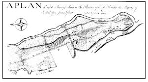 Map Of Unf English Plantations On The St Johns River