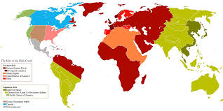 World Map 1940 by Map Of The World As Depicted In