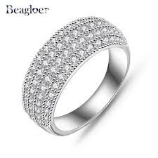 aliexpress buy beagloer new arrival ring gold aliexpress buy beagloer luxury wedding accessories rings