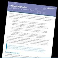 data registries q centrix registry abstraction