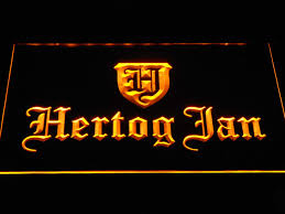 light up beer signs hertog jan light up beer sign bar decor accessories light signs cave