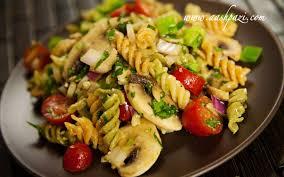 garden pasta salad recipes italian dressing