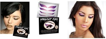 eyeliner tattoo violent eyes pimp your eyes with temporary eye tattoos temporary tattoo blog