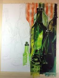 how to u2026 sketch draw paint how to u2026 paint realistic bottles by