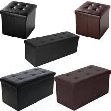 living room modern storage ottomans ebay