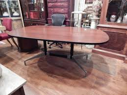 Eames Boardroom Table Herman Miller Eames Aluminum Group Walnut Conference Table Desk