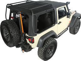 rugged ridge 13516 01 exo top for 07 18 jeep wrangler jk 2 door
