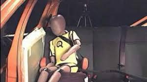 crash test siege auto boulgom crash test d un siège auto groupe 2 3 dépourvu de protections