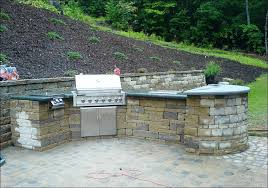 L Shaped Outdoor Kitchen by Kitchen L Shaped Outdoor Kitchen Blueprints Prefabricated