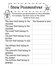 singular and plural possessive nouns worksheets 3rd grade worksheets