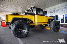 jeep willys truck lifted 2016 sema dcdirtsports willys truck