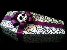 skellington wrapping paper nightmare before christmas wrapping paper diy tutorial this is a