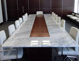 marble conference room table custom stone conference table wall goldfinger vermont head