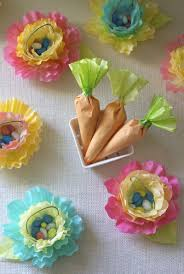 5 diy easter basket ideas coffee filter flowers carrots and easter