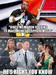 Cm Punk Memes - cm punk vince mcmahon money meme wrestling pinterest money