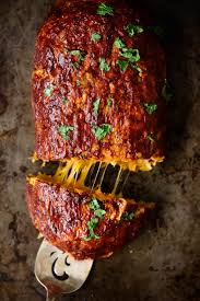 cheddar stuffed sweet potato bbq turkey meatloaf ambitious kitchen
