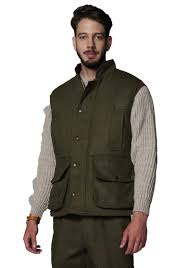 hunter outdoor men u0027s shooting tweed gilet waistcoat u2013 equestrian co