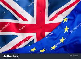 The European Flag Flags United Kingdom European Union Uk Stock Photo 455338651