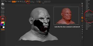 unable to fill object in zbrush u2014 polycount