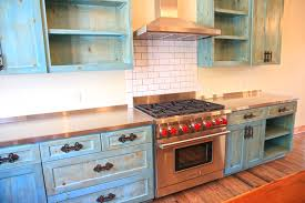 Home Sweet Gypsy Kitchen Junk Gypsy Blog - Turquoise kitchen cabinets