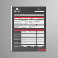 job application form template usl templates creative market