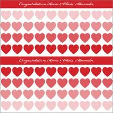 commercial wrapping paper heart lattice gift wrapping roll 24 x 15 s day gift