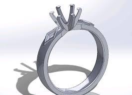 3d printed engagement ring nasa engineer designs an original 3d printed engagement ring for a