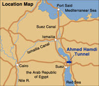 location canap rehabilitation of the ahmed hamdi tunnel the suez canal